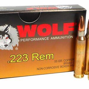 Wolf Gold 223 Remington Ammunition
